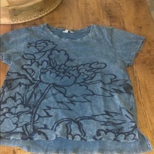lucky brand t-shirt with flower print